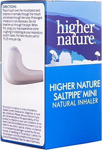 Die Salzpfeife Mini - Saltpipe - 1 Salzpfeife Inhalator - Nachfüllbare Atemhilfe