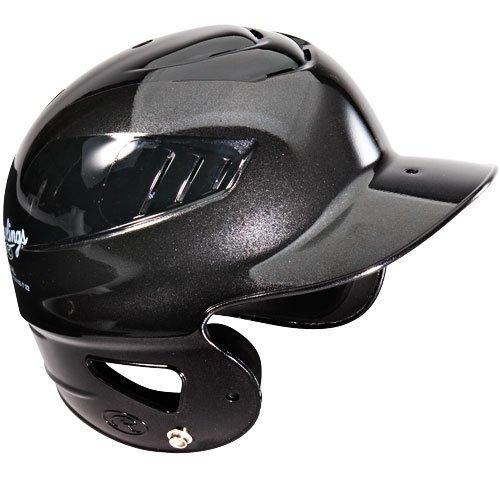 Rawlings Black Tee-Ball Youth Boys/Girls Baseball and Softball Coolflo Venting Batting Helmet (Approved for Little League & ASA Play) (Helmet Foam Rawlings Batting)