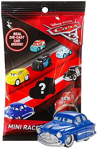 - Doc Hudson Cars 3 Die-Cast Mini Racers in Sealed Bag, Plus Cars 3 Officially Licensed Sticker by Disney Pixar - (Doc Hudson)