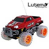 Lutema Extreme Pickup 4CH Remote Control Truck, Red