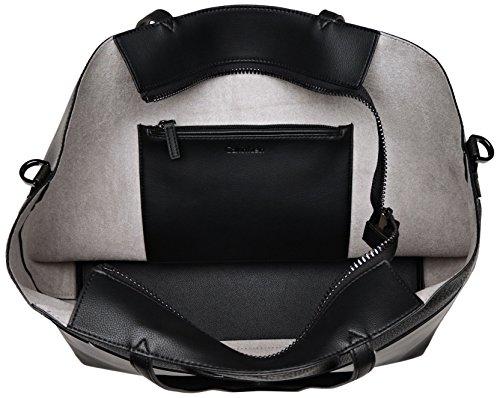 Calvin Klein Luna Medium, Borsa Tote Donna, 15x30x36 cm (W x H x L) Nero (Black)