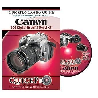 amazon com canon digital rebel rebel xt instructional dvd todd rh amazon com Canon Rebel XT SLR canon eos rebel xt digital camera user manual