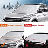 BruRkim Car Windshield Snow Ice Cover for