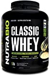 NutraBio Classic Whey Protein – 5 Pounds (Cake Batter)