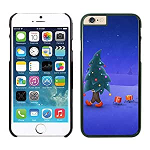 Recommend Design Walking Christmas Tree Man Iphone 6 Cover Case For Iphone 6 4.7 Inch