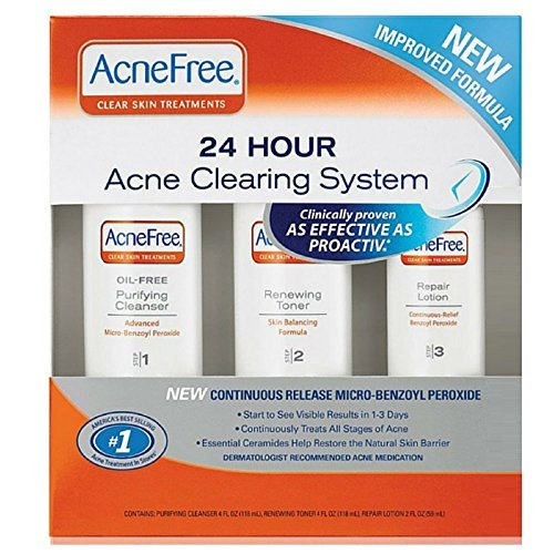 Price comparison product image AcneFree 24 Hour Acne Clearing System 1 kit