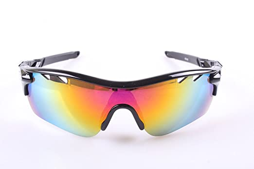 sport sunglasses for women la62  THG Unbreakable Polarised Fishing Cycling Wrap Running Outdoor Sports  Sunglasses Men Women Multi Sport Glasses 3