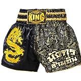 Top King Muay Thai Boxing Shorts Dragon Satin Shorts 034