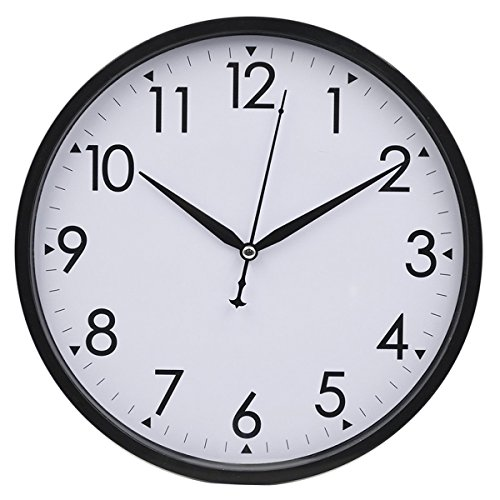 hippih-10-silent-non-ticking-wall-clockblack
