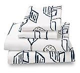 Full Sheet Set Rocket/Plane Print for Kids Bedding - Double Brushed Ultra Microfiber Luxury Bedding Set By Where the Polka Dots Roam