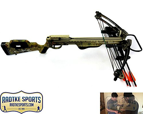 Norman Reedus Autographed/Signed Horton Brotherhood Camo Full Size Crossbow - The Walking Dead