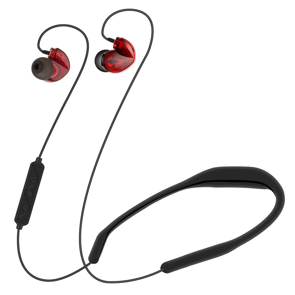 QUICATCH LX8 Hight-end Boutique Dynamic Iron Sports Bluetooth 4.2 Headset Voice Answering