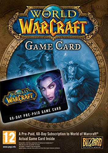 world of warcraft 60 day prepaid game card - 3