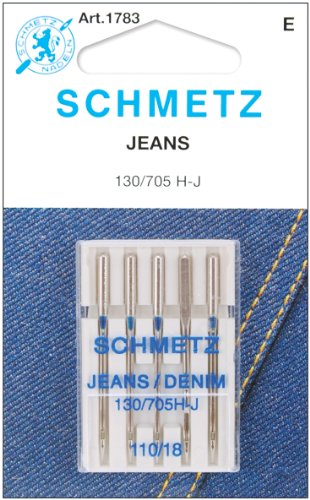 Euro-Notions 1783 Jean & Denim Machine Needles-Size 18/110 5/Pkg