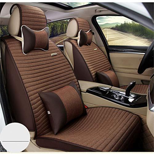 LLYQCZD Car Seat Cushion Environmental Protection Fabric Non-Slip All-Inclusive Four Seasons Universal Five Seats Universal: Garden & Outdoors