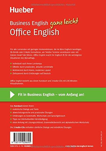 Business English Ganz Leicht Office English Paket Amazonde