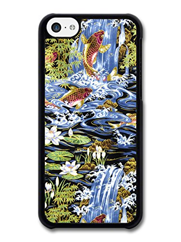Koi Carp Fish And Water Lilies In Lake Cool Style Pattern coque pour iPhone 5C