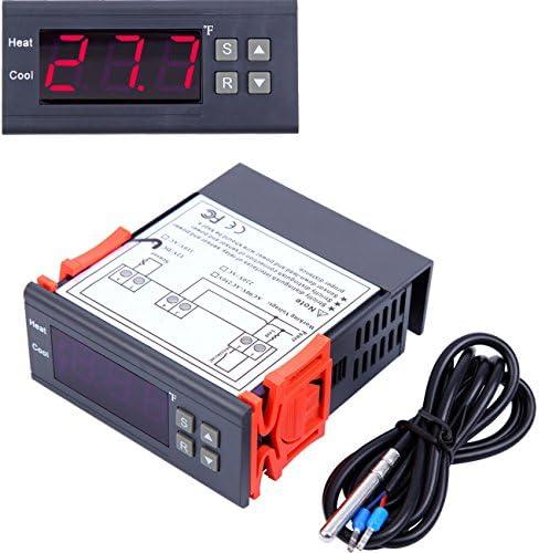 Yonntech 10A 220V Termostato Digital Controlador de temperatura ...