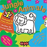 img - for A Mini Magic Color Book: Jungle Animals (Magic Color Books) book / textbook / text book