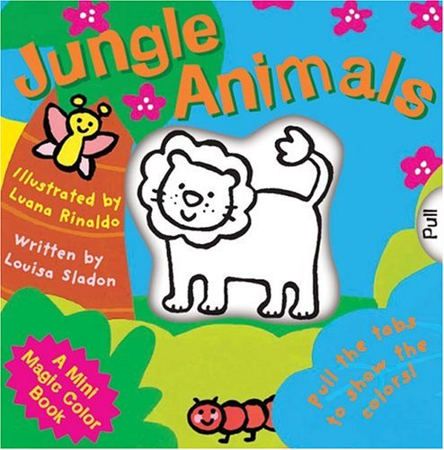 A Mini Magic Color Book: Jungle Animals (Magic Color Books)
