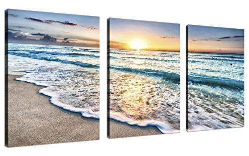 wall art canvas blue - 7