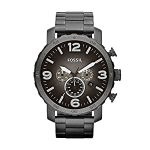 Fossil Men's JR1437 Nate Stainless Steel Watch With Link Bracelet