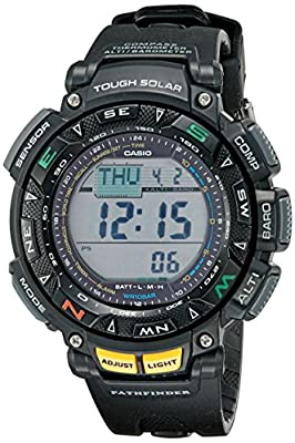 Casio Men's PAG240-1CR Pathfinder Triple Sensor Multi-Function Sport Watch by Casio