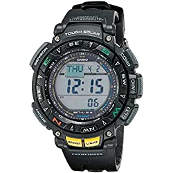 Casio Men's Pathfinder PAG240-1CR Solar Powered Triple Sensor Sport Watch