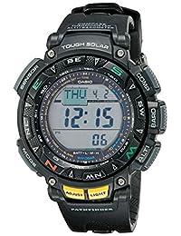 """Casio PAG240-1CR""""Pathfinder"""" Reloj deportivo multifuncional con triple sensor para hombres"""