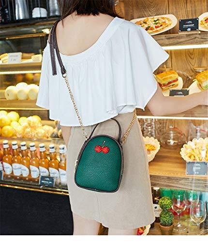 Salvaje Messenger Bag Lindo Hombro White Color Simple Bandolera De Solo Verde Bolsos n8Fq10Ox