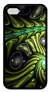 Alien Skin9 TPU Case Cover for iPhone 4 and iPhone 4S Black