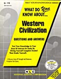 What Do You Know about Western Civilization?, Rudman, Jack, 0837371163