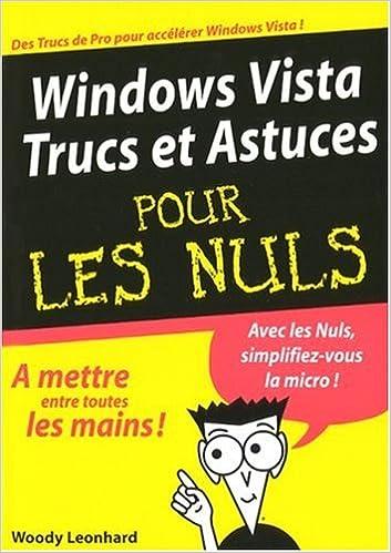 En ligne téléchargement gratuit Windows Vista Trucs et Astuces pour les Nuls pdf, epub ebook