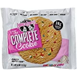 Lenny & Larrys All Natural Complete Protein Cookie Birthday Cake, 12 Count