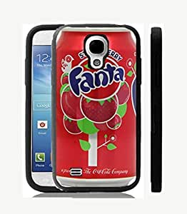 Case Cover Design Fanta can for Samsung S3 mini Ft5 Border Rubber Pvc Case Black@pattayamart