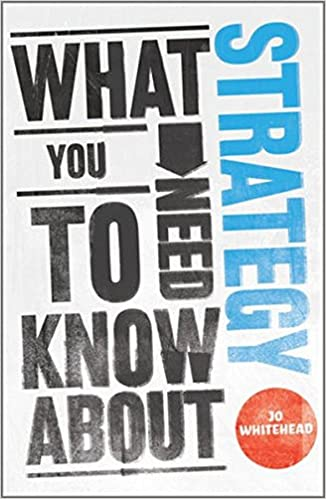 Book What You Need to Know about Strategy