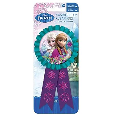 Confetti Pouch Award Ribbon   Disney Frozen Collection   Party Accessory: Toys & Games