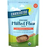 Cheap Carrington Farms Organic Milled Flax Seed, Gluten Free, USDA Organic, 14 Ounce, Packaging May Vary