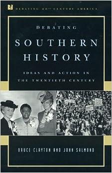 Book Debating Southern History