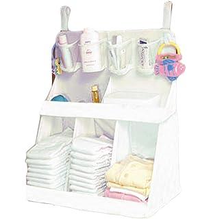 BIAOZH Bolsa de Almacenamiento para Pañales de bebé, Diseño de Cabeza de Babero, Color