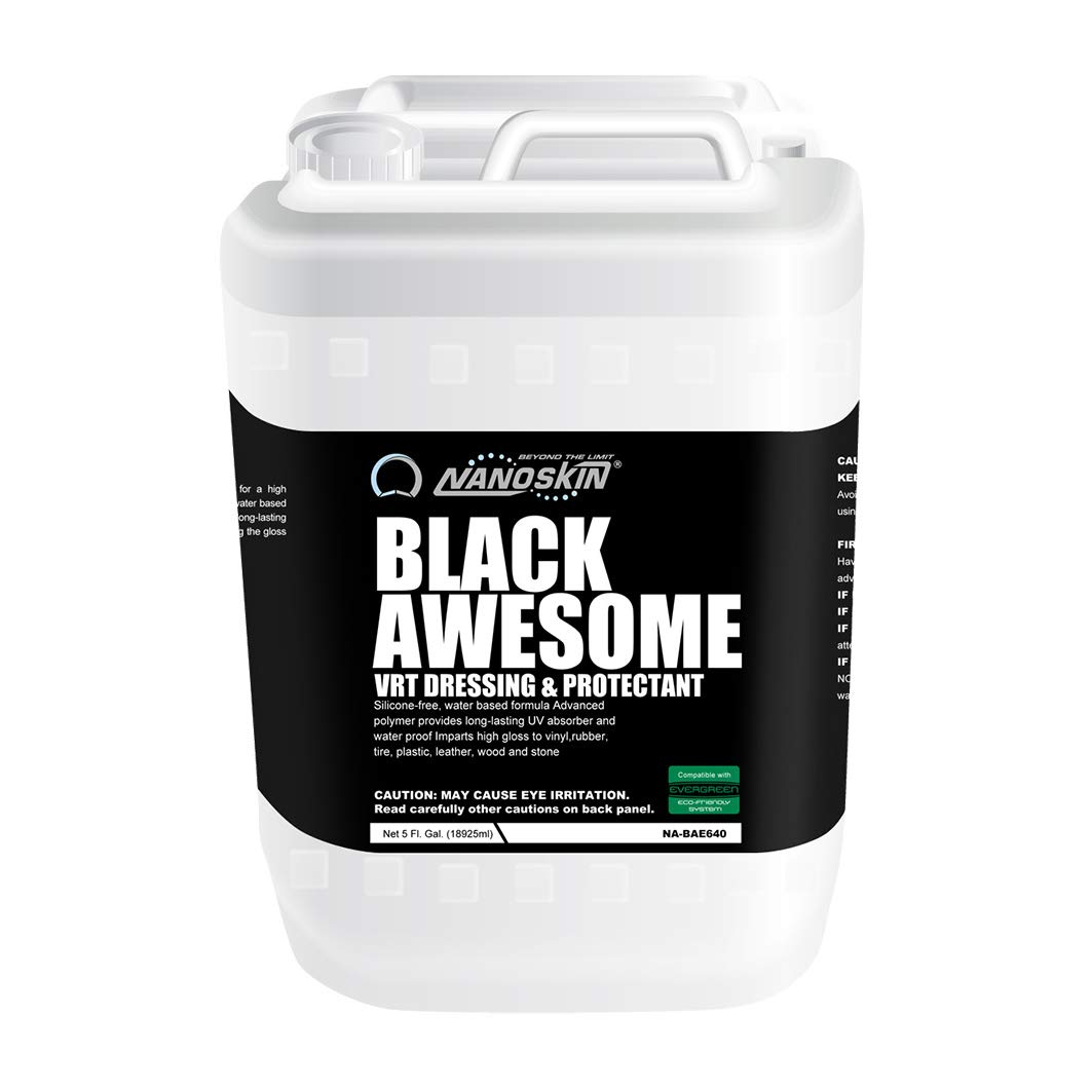 Nanoskin (NA-BAE640) Black Awesome VRT Dressing and Protectant - 5 Gallon by Nanoskin