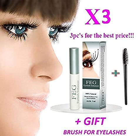 00a8fc93f73 3 X BEST Eyelash Growth Product and Eyebrow Thickener. Most Effective  Growth Serum with Conditioner