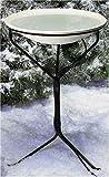 API 970 20-Inch Diameter Heated Bird Bath with Metal Stand