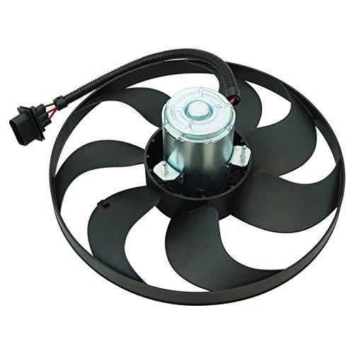 Radiator Cooling Fan Assembly Motor Blade For Audi TT VW Golf Left - Motor Golf Fan Blade Radiator