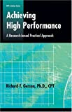 Achieving High Performance, Richard F. Gerson, 0874259274