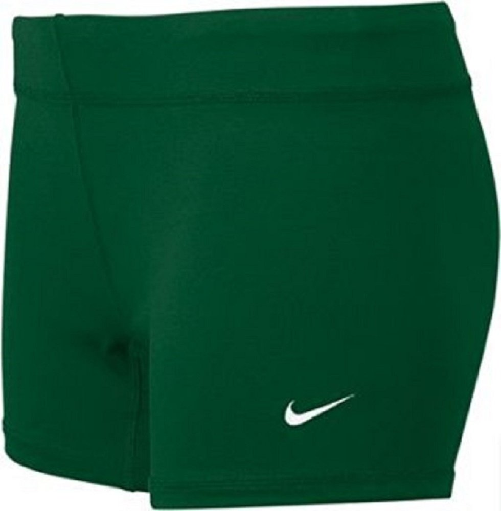 Nike Performance Game Womens Volleyball Shorts (XX-Small, Gorge Green)