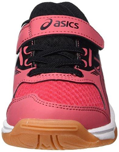 Asics Unisex Scarpe black Rosso Red – Ps Da Upcourt Bambini 2 dark Ginnastica rouge Grey FxrqFZw