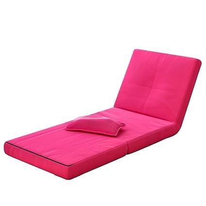 MIMI KING Portátil Tri-Fold Colchones Cama De Camping Cuna Multifuncional Sofá Alfombra con Cubierta