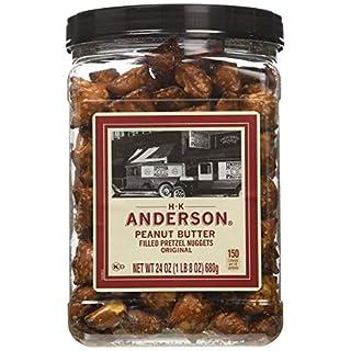 Anderson Bakery Peanut Butter Nuggets Pretzel, 24-oz. - 5 Pack