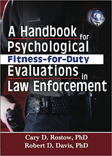 Book A Handbook for Psychological Fitness-for-Duty Evaluations in Law Enforcement